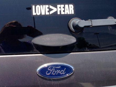 love>fear